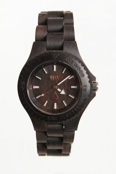 WeWood DATE Wooden Special Edition Watch Black <3