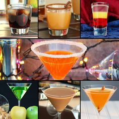 The Slow Roasted Italian: Haunted Halloween and Fabulous Fall Cocktail Roundup - Ghoulish drink roundup.  7 party perfect Haunted Halloween and Fabulous Fall Cocktails.