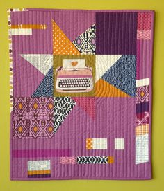 Type of Improv Mini Quilt | Flickr - Photo Sharing!