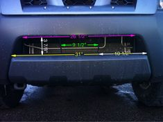 Reference Dimensions - Second Generation Nissan Xterra Forums (2005+)