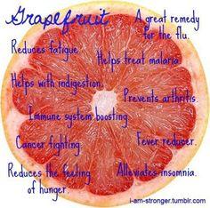 Health Benefits of Grapefruit -
