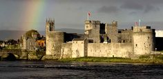 King John's Castle, Limerick. King John's Castle is a 13th century Castle on 'King's Island' in the heart of medieval Limerick City