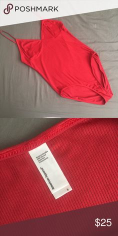 American Apparel Sofia Bodysuit Discontinued color! Super soft and comfortable. This was an impulse buy because of the color. Worn once with undies when picking out an outfit and it went right back into my closet ☹️ American Apparel Other
