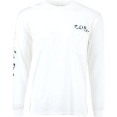 Salt Life Men's Stars and Stripers Long Sleeve T-shirt (White, Size XX Large) - Men's Outdoor Apparel, Men's Outdoor Graphic Tees at Academy Sports