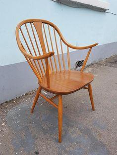Very Rare 1960s Ercol 514 Arm/Carver Chair. Vintage/Retro/Mid