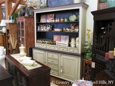 Country style dining room hutch- Country Willow Furniture