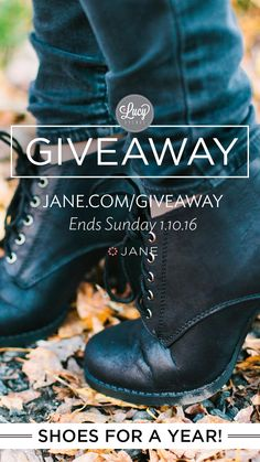 I pinned this picture for my chance to win shoes for a YEAR!