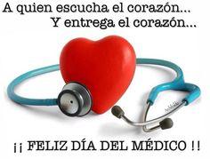 Felicidades Asociados en el día del Médico.