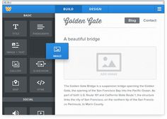 Create free websites using Weebly - very easy to use, drag and drop.