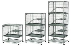 Midwest Container 182 Ferret Nation Double Unit with Stand