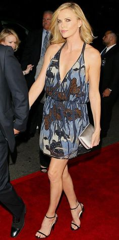 Look of the Day - March 13, 2015 - Charlize Theron in Gucci from #InStyle