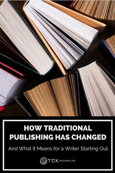 The publishing world has changed dramatically in the last 20 years—but that's not bad news for new authors! Learn how to make the most of modern publishing today.