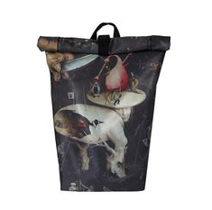 Hieronymus Bosch Rolltop Backpack Urban Messenger Ridding Bag 5f970cd9ef