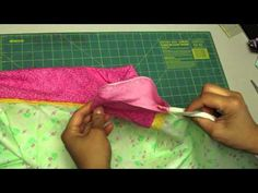 Como hacer o coser una funda de almohada