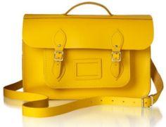 A classic Satchel - leather bag