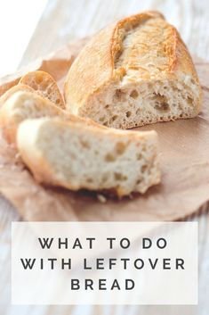 Recipes With Old Bread, Leftover Bread Recipes, Leftovers Recipes, Bread And Butter Pudding, Pita, Puff Pastry Recipes, Slow Food, Food Reviews, Food Waste
