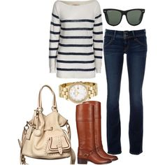 classic & simple   (great casual go - to outfit)