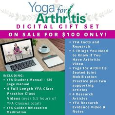 Still looking for a last-minute gift but worried about shipping schedules and on-time arrival for the holidays? Stop sweating! YFA has you covered on instant-access digital gifts! . Check out our digital gift set which includes access to many of the best of our digital offerings from research to full practice videos. You can purchase the gift set at arthritis.yoga/store. . Would your loved one prefer working directly with @drmoonaz? You can gift a private yoga or teacher mentorship session… Stop Sweating, Yoga For Arthritis, Instant Access, Last Minute Gifts, Need To Know, No Worries, Teacher, Student, Holidays