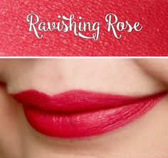 avon true color matte lipstick ravishing rose   Avon True Colour Perfectly Matte Lipsticks   I Know all the Words