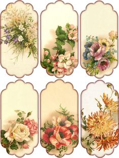 Crafts – Vintage Pieces for Collage/Altered Art – Floral Hang Tags Paper Crafts – Vintage Pieces for Collage/Altered Art – Floral Hang Tags without text.Paper Crafts – Vintage Pieces for Collage/Altered Art – Floral Hang Tags without text. Decoupage Vintage, Decoupage Paper, Vintage Paper, Vintage Tags, Vintage Labels, Vintage Prints, Vintage Floral, Vintage Clip, Vintage Ideas