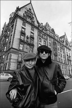 Rest In Peace John Lennon October 9th, 1940 - December 8th, 1980. Founding Member & Singer/Songwriter, With The Beatles. Killed In The Archway Of Dakota, Returning From The Record Plant, In New York, City, NY. This Photo Of John & Yoko Was Taken Across The Street From The Dakota, On November 21st, 1980, Less Than Three Weeks Before His Death. John Was 40 Years Old. Photo Taken by Bob Gruen, New York City, 1980. Rest In Eternal Peace, My Beautiful John...