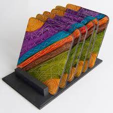 Resultado de imagen para artesanias infantiles en madera Sushi Set, Decoupage, Paint Brushes, Classroom Decor, Painting On Wood, Fused Glass, Ideas Para, Coasters, Mandala
