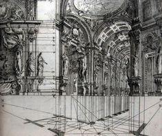 Giuseppe Galli Bibiena - Architettura civile