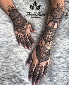 Pin For Trend Presented Henna Tattoo Designs Collection 2019 - Latest Henna Designs - Henna Ideas 2019 (Beautiful Henna Designs Henna Tatoos, Henna Tattoo Hand, Henna Body Art, Henna Mehndi, Henna Art, Mandala Tattoo, Full Body Henna, Hand Tattoos, Tattoo Celtic
