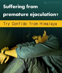 Suffering from #PrematureEjaculation? http://www.onlineherbs.com/confido-from-himalaya-60tab.html?utm_source=pintrest&utm_medium=product-page&utm_term=himalaya-confido&utm_campaign=oct-smo