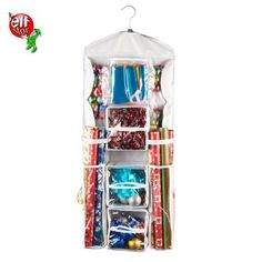 Free Shipping. Buy Elf Stor | Double Sided | Hanging Gift Wrap and Bag Organizer | Stores it All at Walmart.com