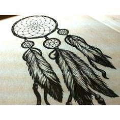 Dream Catcher Ruth Tattoo Ideas found on Polyvore