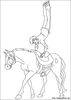 The Ranch coloring picture Coloring Pages For Kids, Coloring Sheets, Coloring Books, Horse Outline, Le Ranch, Horse Drawings, Scrapbooking, 2 Colours, Horses