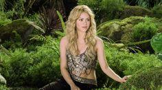 Shakira durante el anuncio de Activia.