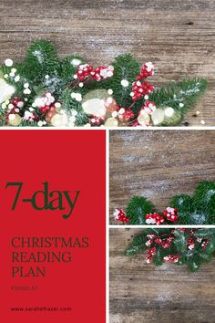 Celebrate a Christ-centered Christmas with this Christmas Bible reading plan! Let these Christmas Bible verses help you rejoice at the birth of the Jesus and God's gift to the world. || Sarah E. Frazer #bible #biblestudy #biblereadingplan #sarahefrazer Christmas Bible Verses, How To Plan, Reading, Word Reading, Reading Books, Libros