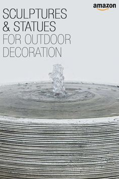Sculptures, statues, chimes, and more! All the decor you could want for your outdoor entertaining.