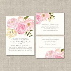 High Quality Custom Wedding Invitations from SplashOfSilver Stationery