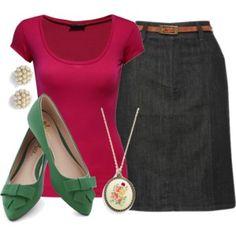 Teacher Outfits on a Teacher's Budget 98