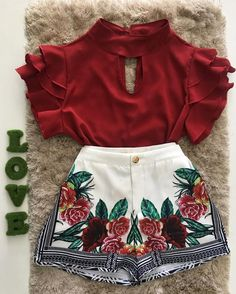 US Toddler Kids Baby Girls Floral Dress Clothes Shirt Tops+Skirt Summer Outfits Office Outfits Women, Teenager Outfits, Casual Dresses For Women, Cute Summer Outfits, Trendy Outfits, Cool Outfits, Teen Fashion, Fashion Outfits, Stylish Blouse Design