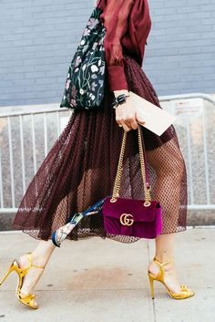 Best Outfit Ideas For Fall And Winter  The Bags of New York Fashion Week S/S 20