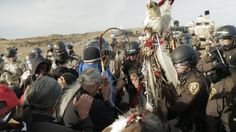 Militarized police have assaulted peaceful protectors again. This time police stole several sacred items, attacked medics, attacked people injured in previous police assaults, used military weapons, tased and shot people in the face, shot horses, and arrested over 100 peaceful people, all while they allowed a DAPL security guard go after the protectors with an AR-15. Over 300 police officers in...
