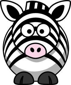 Studiofibonacci Cartoon Zebra Black White Line Art Coloring Book Colouring Drawing Fav Zebra Cartoon, Cartoon Cow, Cartoon Head, Cartoon Images, Zebras, Clipart Black And White, Black White, Minnie Safari, Zebra Clipart