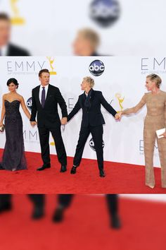 Alec Baldwin, Ellen DeGeneres and Dates    Alec Baldwin and his wife Hilaria Thomas formed a bond with Ellen DeGeneres and her wife Portia de Rossi. These couples need to double date!