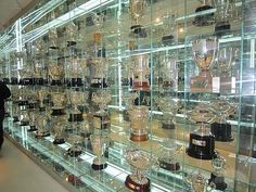 Real Madrid Stadium | Trophy Room at Real Madrid Stadium by TravelPod Member Kscypher ...