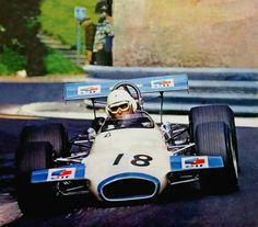 1970 Pau (Jack Brabham) Brabham BT30 - Cosworth FVA