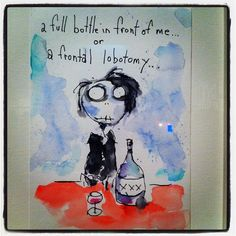 Who gets to choose? Tim Burton, France, My Love, Words, Drawings, Funny, Humor, Art, Radiation Exposure