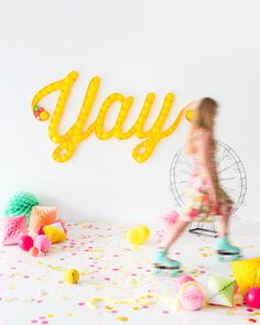 Balloon Marquee Backdrop   Oh Happy Day!