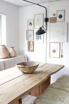 DIY Esstisch aus Planken Holz von Heimatbaum