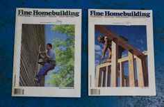 Fine Homebuilding Magazines The perfect treat for you handy man at home