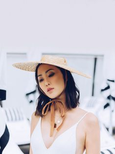 All the Hats You'll Need This Summer - The Chriselle Factor Best Fashion Blogs, Fashion Bloggers, Athletic Body Types, Get Dressed, Outfit Of The Day, Cool Style, Dresses For Work, Street Style, Style Inspiration