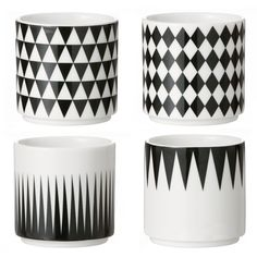 Geometry espresso cups, set of 4